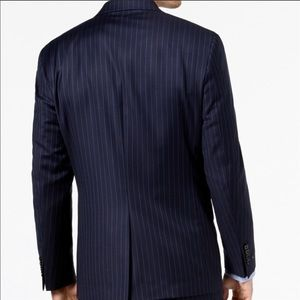 Lauren Ralph Lauren Suits & Blazers - Ralph Lauren Navy Wool Pinstripe Suit, sz 42S, NEW